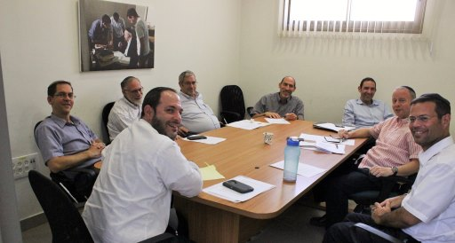 Bnei chul staff preparing for 5778 web